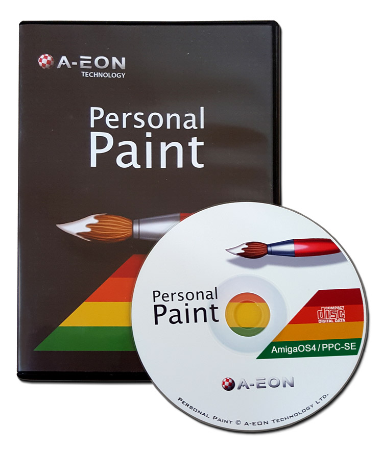 Personal Paint 7.3b OS4 (Amiga CD)